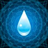 Fundo do elemento da água Foto de Stock Royalty Free