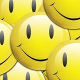 Fundo do Emoticon Fotos de Stock Royalty Free