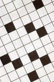Fundo do enigma de palavras cruzadas imagens de stock