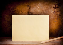 Fundo do envelope do vintage Foto de Stock Royalty Free