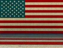 Fundo do estilo dos EUA Fotografia de Stock