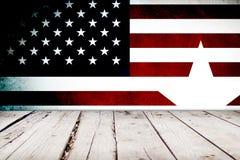 Fundo do estilo dos EUA Imagem de Stock Royalty Free