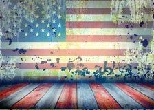 Fundo do estilo dos EUA Imagens de Stock Royalty Free