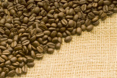 Fundo do feijão de Coffe Foto de Stock