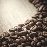 Fundo do feij?o de caf? imagens de stock royalty free