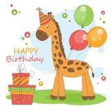 Fundo do feliz aniversario. ilustração royalty free