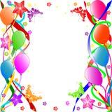 Fundo do feliz aniversario Foto de Stock