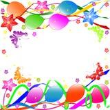 Fundo do feliz aniversario Fotografia de Stock