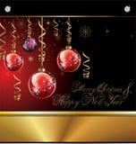 Fundo do Feliz Natal Imagem de Stock