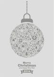 Fundo 2014 do Feliz Natal Imagem de Stock
