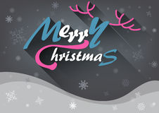 Fundo do Feliz Natal Ilustração do Vetor