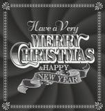 Fundo do Feliz Natal Fotos de Stock Royalty Free