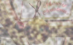 Fundo do Feliz Natal Fotos de Stock