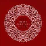 Fundo 2016 do Feliz Natal e do ano novo feliz Imagem de Stock Royalty Free