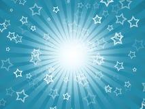 Fundo do feriado com estrelas Imagens de Stock