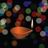 Fundo do feriado de Diwali Foto de Stock Royalty Free