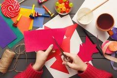 Fundo do feriado de DIY, decorações da festa de anos Foto de Stock Royalty Free