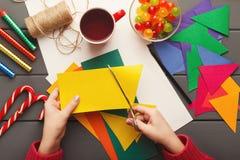 Fundo do feriado de DIY, decorações da festa de anos Foto de Stock