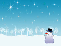 Fundo do feriado de inverno ilustração do vetor