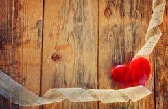 Fundo do feriado do dia de Valentim Fotos de Stock Royalty Free