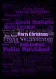 Fundo do feriado do Feliz Natal Imagem de Stock