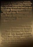 Fundo do feriado do Feliz Natal Fotografia de Stock