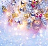 Fundo do feriado do Natal fotografia de stock