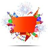 Fundo do feriado do partido Imagens de Stock