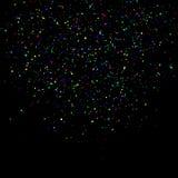 Fundo do feriado dos confetes Fotografia de Stock