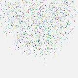 Fundo do feriado dos confetes Foto de Stock Royalty Free
