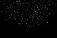 Fundo do feriado dos confetes Imagem de Stock