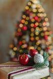 Fundo do feriado do Natal fotos de stock