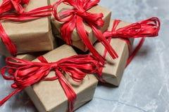 Fundo do feriado do Natal e do ano novo foto de stock
