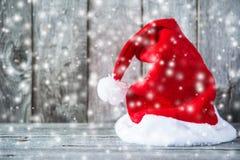 Fundo do feriado do Natal e do ano novo Cartão do Xmas Feriados de inverno foto de stock royalty free