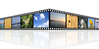 Fundo do filme Fotos de Stock Royalty Free