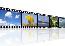 Fundo do filme Imagem de Stock