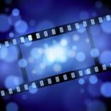 Fundo do filme de filme Foto de Stock Royalty Free