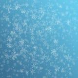 Fundo do floco da neve ilustração do vetor