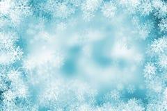 Fundo do floco de neve ilustração royalty free