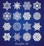 Fundo do floco de neve do Natal Fotos de Stock Royalty Free