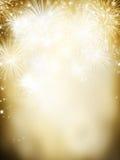 Fundo do fogo de artifício Imagens de Stock Royalty Free