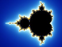Fundo do Fractal Fotos de Stock Royalty Free