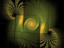Fundo do Fractal Foto de Stock Royalty Free