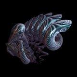 fundo do fractal 3d Imagens de Stock Royalty Free
