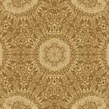 Fundo do fractal do ouro e textura brilhante para o projeto, inclinação do teste padrão ilustração stock