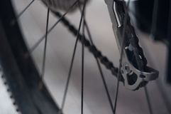 Fundo do fragmento da bicicleta fotografia de stock royalty free