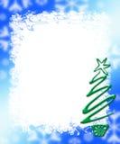 Fundo do frame de cartão do feriado Fotografia de Stock