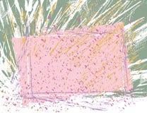 Fundo do frame de Grunge   ilustração stock