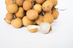 Fundo do fruto do Longan Foto de Stock Royalty Free