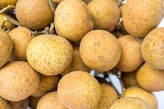 Fundo do fruto do Longan Imagem de Stock Royalty Free